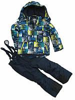 Детский зимний комбинезон термокомбинезон лыжный костюм  HI TECH PHIBEE KIDS, фото 1