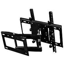 Кронштейн поворотный для телевизора с диагональю 26-52 дюйма.Настенный крепеж для телевизора TVCP401, фото 2