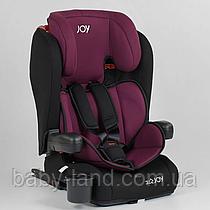 Детское автокресло система ISOFIX Joy 73180 Черно-малиновое