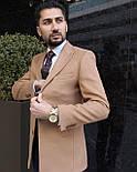 Пальто Чоловіче пальто коричнивое, фото 2