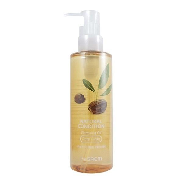 Гидрофильное масло для склонной к жирности кожи The Saem Natural Condition Cleansing Oil Deep