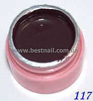 Цветной гель Canni 5 мл №117 , фото 1
