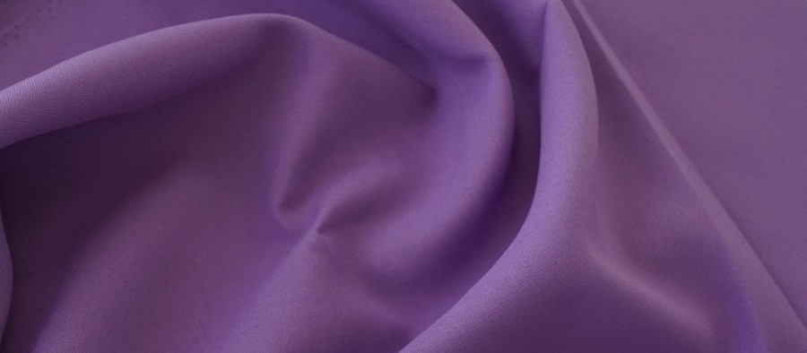 Ткань Габардин фиалка TG-0025