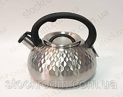 Чайник Peterhof PH 15648 со свистком 3л