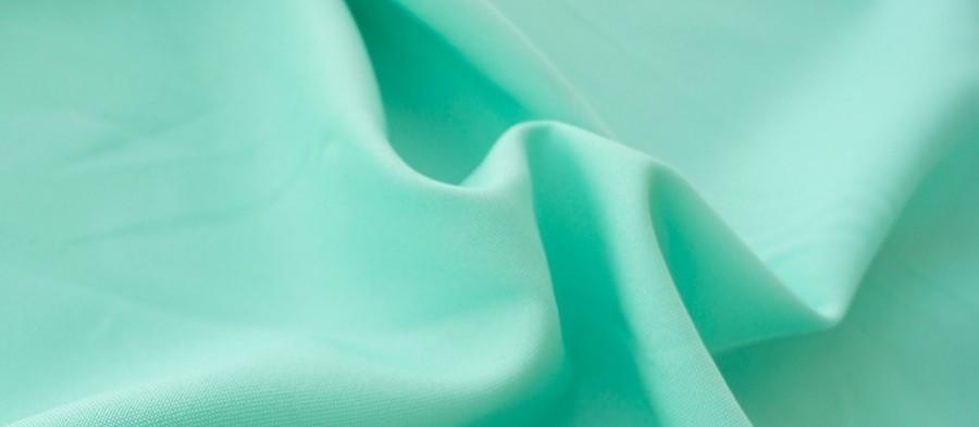 Ткань Габардин мятный  М'ята TG-0028