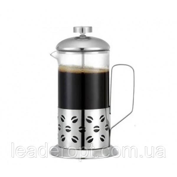 [ОПТ] Френч -пресс  для чая 600ML