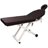 Стол массажный стационарный электрический 830 В кушетка для массажа, для косметолога, для татуажа