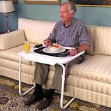 Мобильный складной столик для ноутбука и еды Table Mate 2 с регулировкой высоты и наклоном, фото 4
