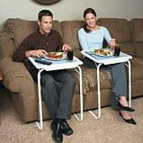 Мобильный складной столик для ноутбука и еды Table Mate 2 с регулировкой высоты и наклоном, фото 2