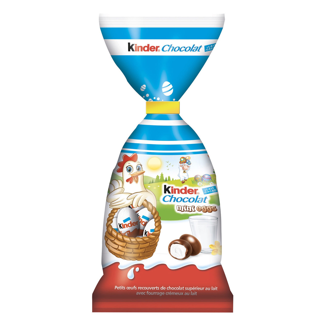 Kinder mini eggs Мини яйца из молочного шоколада с молочной начинкой