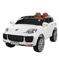 Электромобиль детский Bambi Porsche с радиоуправлением БЕЛЫЙ