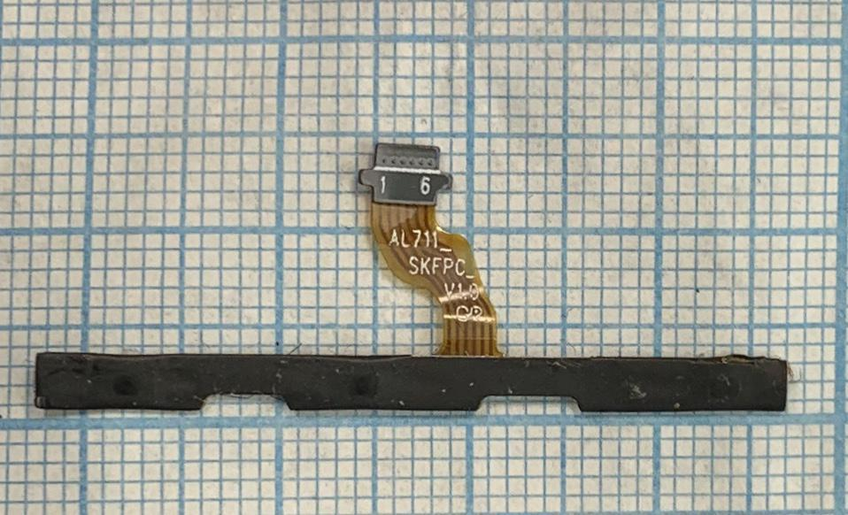 Шлейф кнопок для Lenovo A2010-a Original б/в