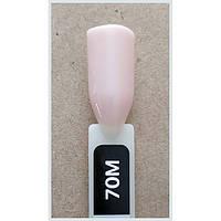 Гель-лак Kodi Professional 70M, Светлыйбежево-розовый, эмаль