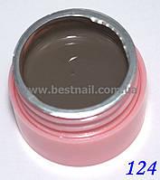 Цветной гель Canni 5 мл №124 , фото 1