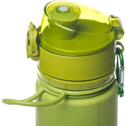 Бутылкасиликон700mlTramp TRC-094-olive, фото 2