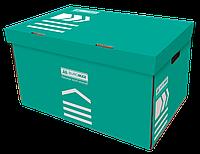 Архивный короб для боксов Buromax BM.3270-06 бирюза, фото 1
