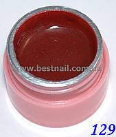 Цветной гель Canni 5 мл с блеском №129  , фото 1