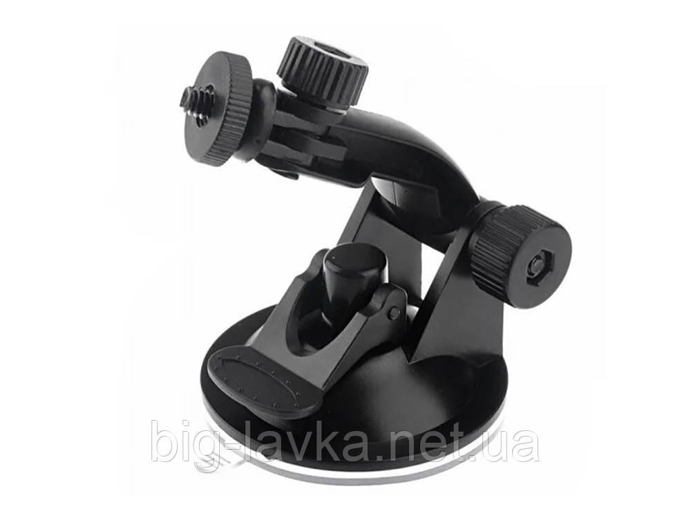 Автомобильная присоска крепление с винтом ¼  для экшн камеры