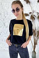 Необычная футболка с дерзкой надписью  Clew - черный цвет, L (есть размеры), фото 1