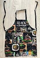 Фартук Передник Фартук Кухонный Tirotex Хлопок 100% Black Is Beautiful Размер 60*70 См, фото 1