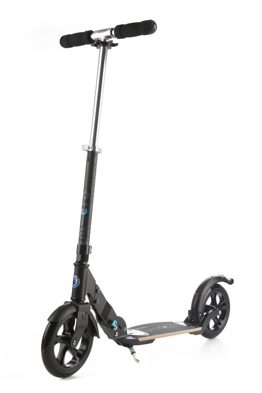 Самокат Micro Flex Black Matte 200