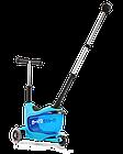 Самокат Micro Mini2go Blue Deluxe plus, фото 2