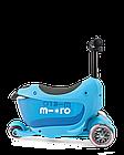 Самокат Micro Mini2go Blue Deluxe plus, фото 5