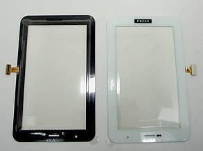 Тач (сенсор) Samsung  P6200 бел