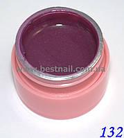 Цветной гель Canni 5 мл с блеском №132 , фото 1