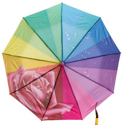 Зонт Полуавтомат Женский полиэстер 480-3, фото 2