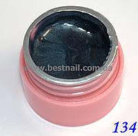 Цветной гель Canni 5 мл с блеском №134 , фото 1