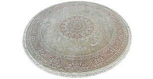 Коврик восточная классика XYPPEM G124 1,5Х1,5 КРЕМОВЫЙ круг