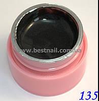 Цветной гель Canni 5 мл с блеском №135 , фото 1
