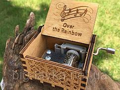 Деревянная музыкальная шкатулка Over the Rainbow №29