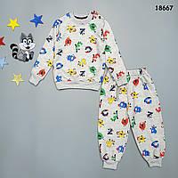 Утепленный костюм для мальчика. 86, 92, 98, 104 см