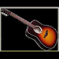 Акустическая гитара Трембита E-2  Разные цвета