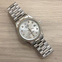 Часы Rolex Date Just New All Silver SKL39-225474