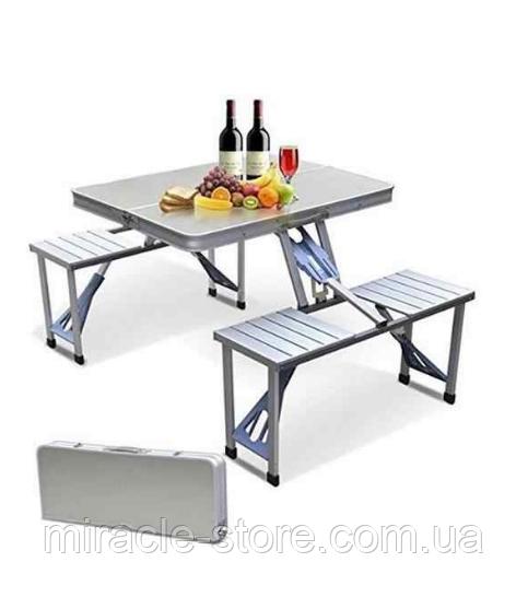 Стіл для пікніка з 4 стільцями посилений Rainberg, Оригінал