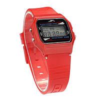 Женские наручные часы Acrylic стиль Casio Retro Красные, фото 1