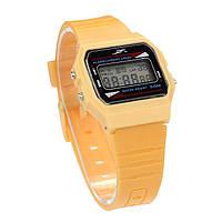 Наручные часы Acrylic стиль Casio Retro Желтые