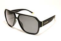 Солнцезащитные мужские очки с поляризацией матовые (копия) Docle & Gabbana P1008 C1 SM