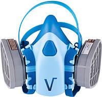 Респиратор Vita - 3 м-6000 с двумя фильтрами (фильтр трапеция)