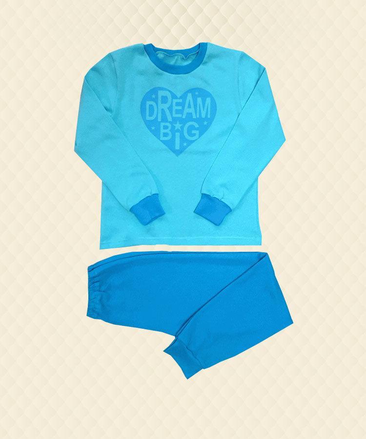 Пижама детская Dream Big принт начес