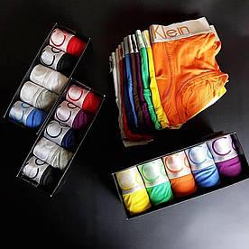 Подарочный набор Calvin Klein Steel боксеры модал (случайные цвета)