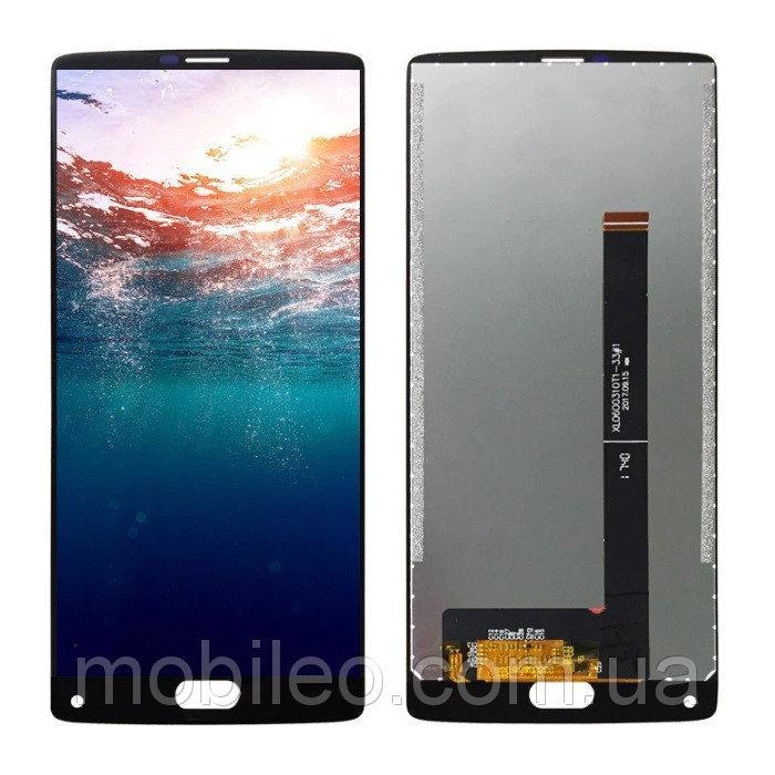 Дисплей (LCD) Doogee (HomTom) S9 Plus с тачскрином, черный