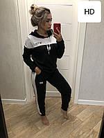 0060 черно-белый женский спортивный костюм (42-50, 5 ед.)