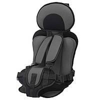 Детское бескаркасное автокресло Child Car Seat черный (3670)
