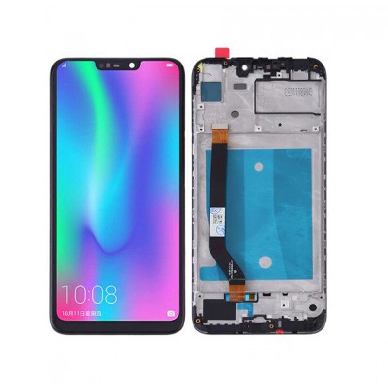 Дисплей (LCD) Huawei Honor 8C с тачскрином и рамкой, чёрный