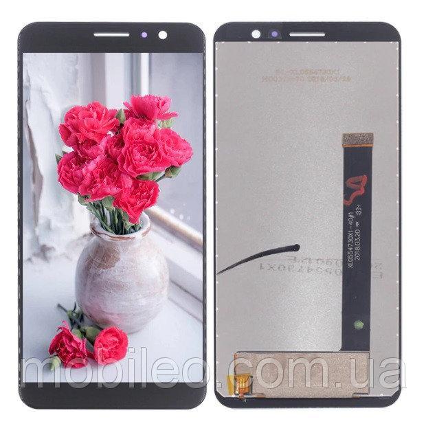 Дисплей (LCD) Umidigi A1 Pro с тачскрином, чёрный
