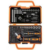 Набор инструментов Neo Tools с держателем, 69 ед. (06-116)
